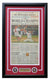 Philadelphia Phillies Framed October 30 2008 Philadelphia Inquirer Sports Cover PSM-Powers Sports Memorabilia