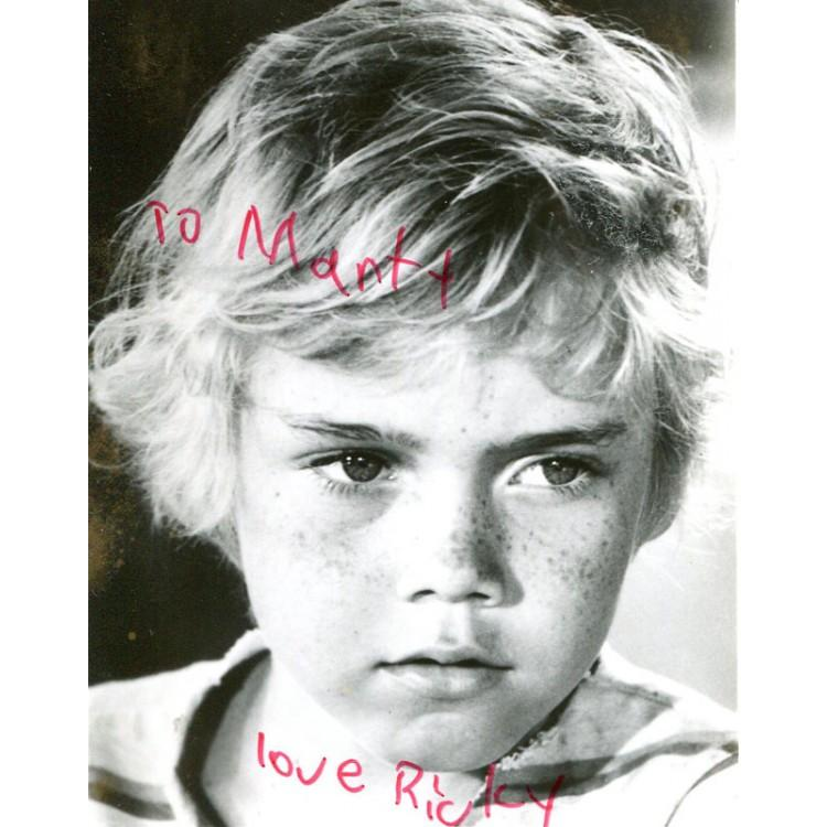 Ricky Schroder Autographed 3x5 Photo PSM-Powers Sports Memorabilia
