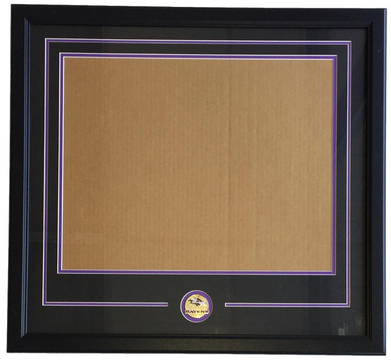 Baltimore Ravens 16x20 Horizontal Photo Frame Kit PSM-Powers Sports Memorabilia