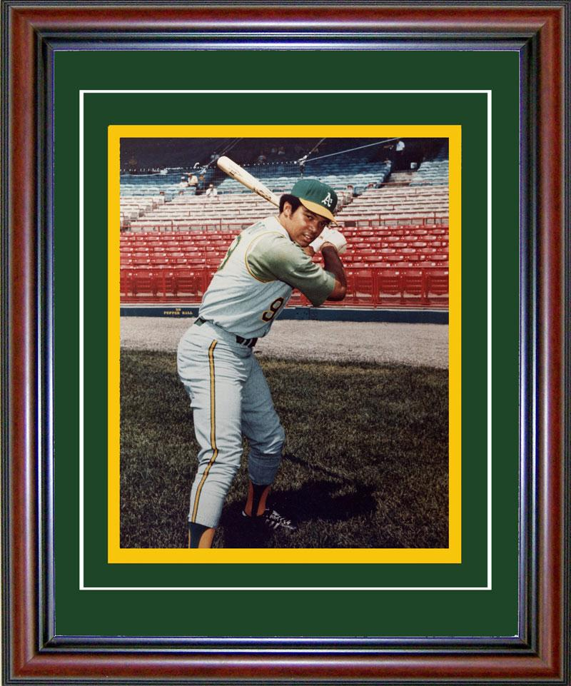 Reggie Jackson Framed Oakland Athletics 8x10 Photo PSM-Powers Sports Memorabilia