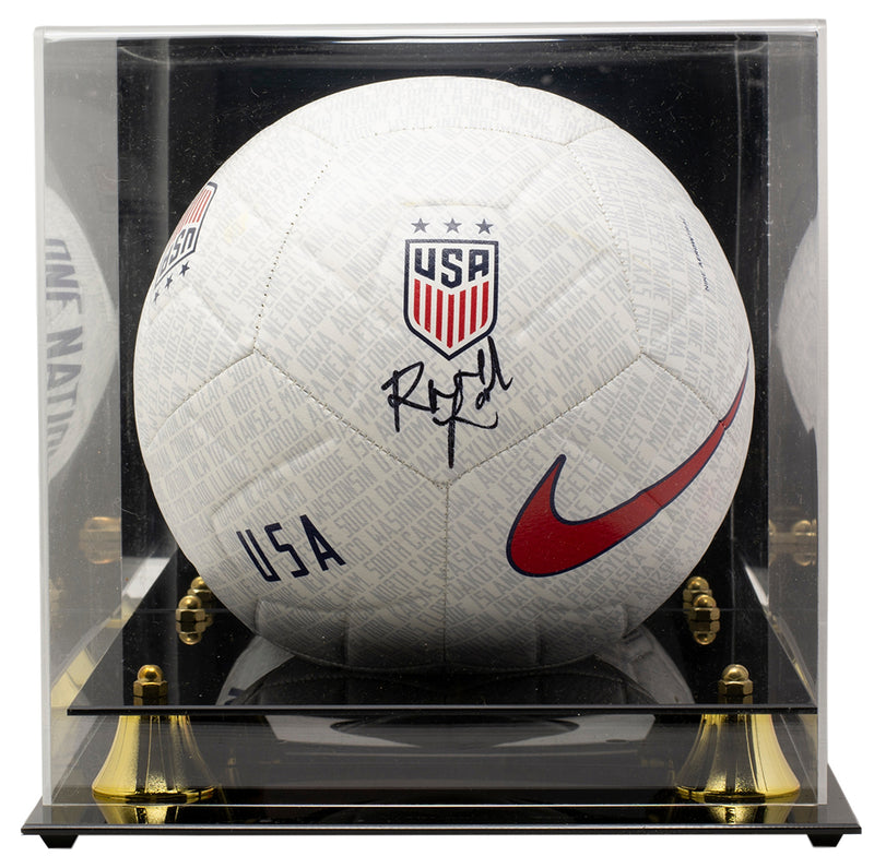 Rose Lavelle Team USA Signed USA Nike One Nation Soccer Ball JSA w/ Case PSM-Powers Sports Memorabilia