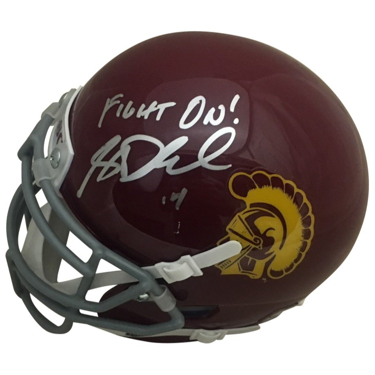 Sam Darnold Autographed USC Trojans Signed Football FIGHT ON Mini Helmet JSA COA 2-Powers Sports Memorabilia