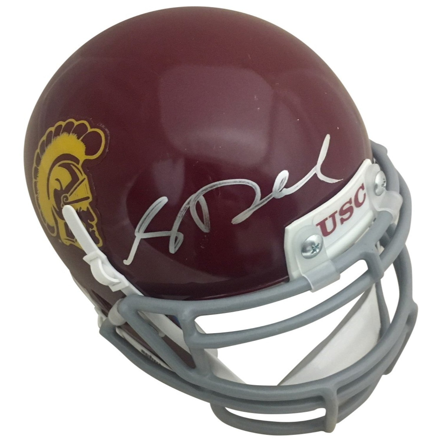 Sam Darnold Autographed USC Trojans Signed Football Mini Helmet JSA COA 3-Powers Sports Memorabilia