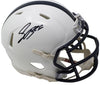 Saquon Barkley Signed Penn State Nittany Lions Mini Speed Helmet JSA Holo+ SI PSM-Powers Sports Memorabilia