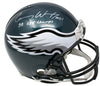 Carson Wentz Signed Eagles Full Size Authentic Proline Helmet SB LII Fanatics PSM-Powers Sports Memorabilia