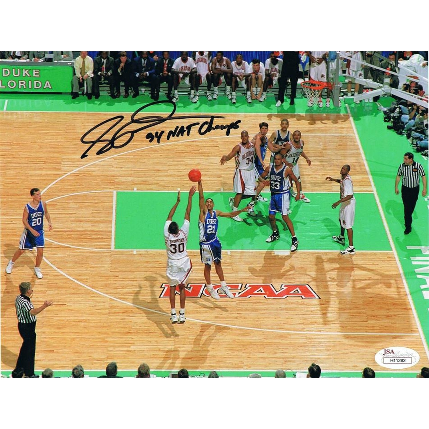 Signed Basketball Photos