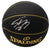 Shaquille O'Neal Lakers Signed Black Replica Spalding Basketball BAS PSM-Powers Sports Memorabilia