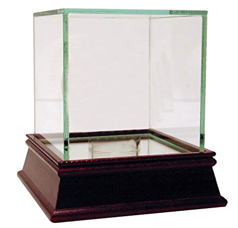 Single Autographed Baseball Glass Display Case PSM-Powers Sports Memorabilia