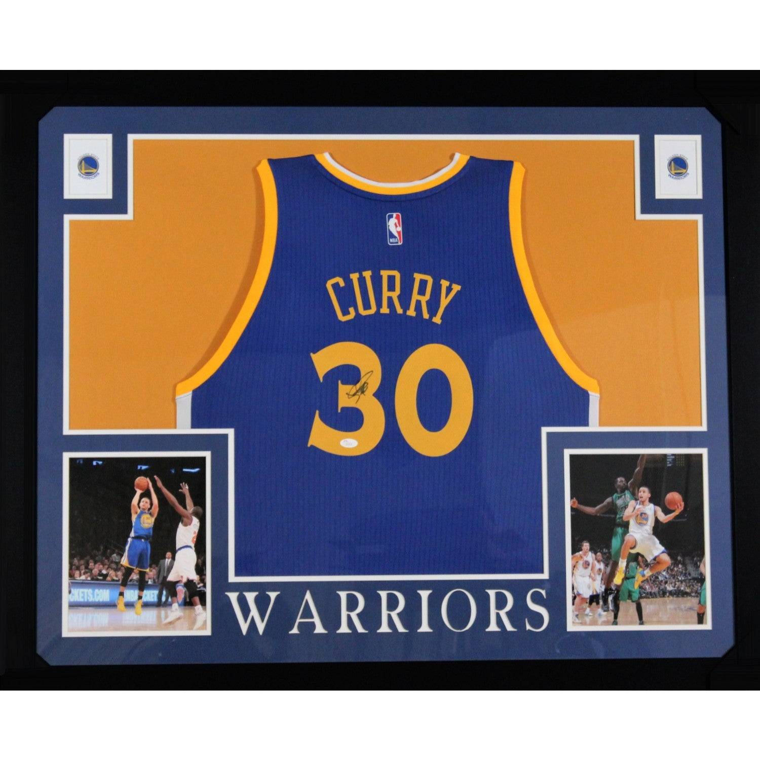 Stephen Curry Autographed Golden State Warriors Signed Adidas Swingman  Basketball Jersey JSA COA-Powers Sports feb923594