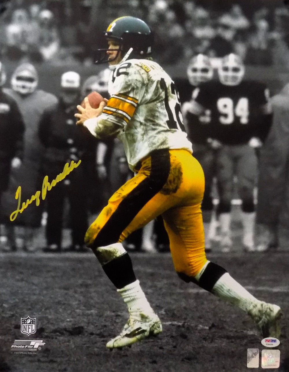 Terry Bradshaw Pittsburgh Steelers Signed 16x20 Photo PSA PSM-Powers Sports Memorabilia