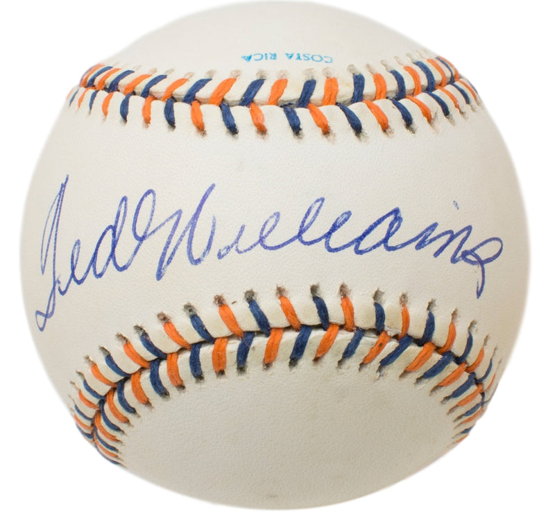 Ted Williams Boston Red Sox Signed 1992 All Star Game Baseball BAS A62793 PSM-Powers Sports Memorabilia