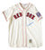 Ted Williams Signed Red Sox Authentic Mitchell & Ness Baseball Jersey BAS A62805 PSM-Powers Sports Memorabilia