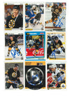 Boston Bruins Lot of 9 Autographed Cards. You will receive all cards in the picture. This Lot includes:Peter Douris, Stephane Quintal, Cam Stewart, Grigori Panteleyev, Dave Thomlinson, Darren Banks, Bob Sweeney, John Byce & 1 Other on a team card. PSM-Powers Sports Memorabilia