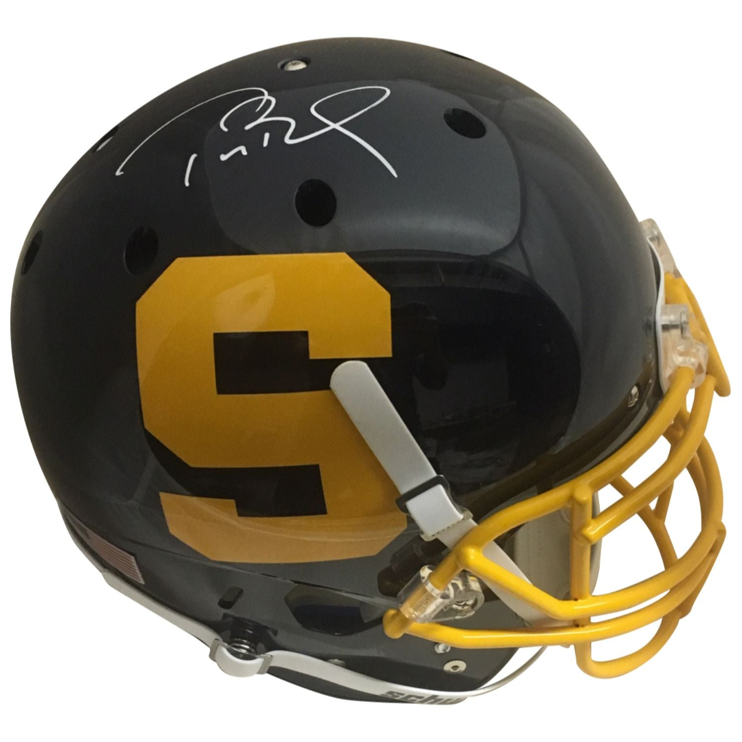 Tom Brady Autographed Serra High School Signed Authentic Football Helmet TRISTAR COA-Powers Sports Memorabilia