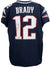 Tom Brady Signed NE Patriots Blue Nike Elite On-Field Authentic Jersey Tristar PSM-Powers Sports Memorabilia