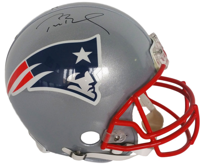 Tom Brady Signed New England Patriots Full Size Authentic ProlIne Helmet Tristar PSM-Powers Sports Memorabilia