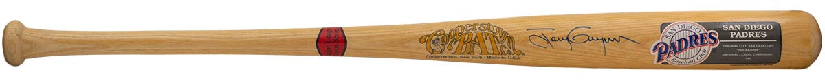 Tony Gwynn San Diego Padres Signed Cooperstown Baseball Bat JSA S78715 PSM-Powers Sports Memorabilia
