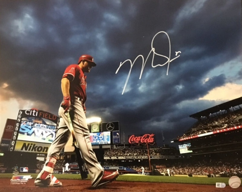 Mike Trout December 2020 Autograph Signing-Powers Sports Memorabilia