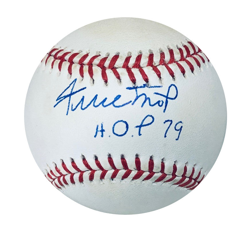 Willie Mays San Francisco Giants Autographed MLB National League Signed Baseball Hall of Fame HOF 79 Beckett BAS COA With UV Display Case-Powers Sports Memorabilia
