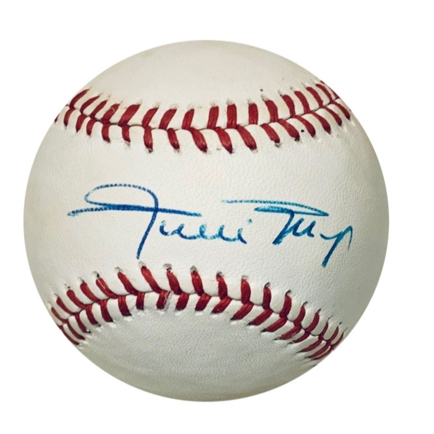 Willie Mays San Francisco Giants Autographed MLB National League Signed Baseball JSA COA 2