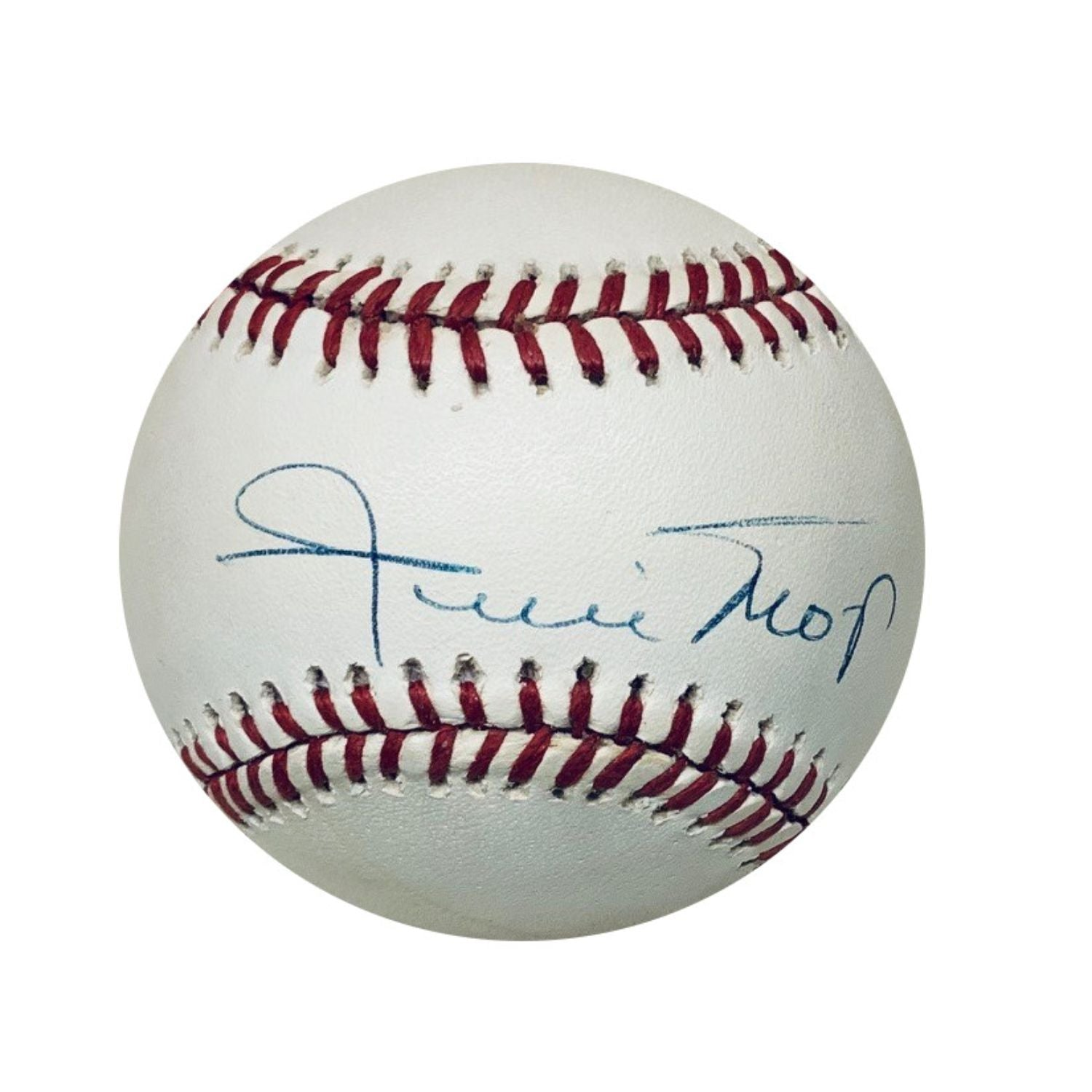 Willie Mays San Francisco Giants Autographed MLB National League Signed Baseball JSA COA 1