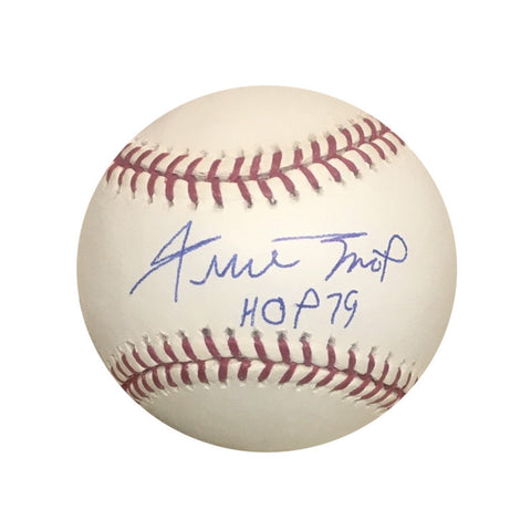Willie Mays San Francisco Giants Autographed Hall of Fame HOF 79 Signed Baseball Beckett BAS COA-Powers Sports Memorabilia