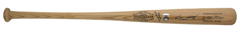 Willie Mays San Francisco Giants Singed Adirondack Baseball Bat Steiner PSM-Powers Sports Memorabilia