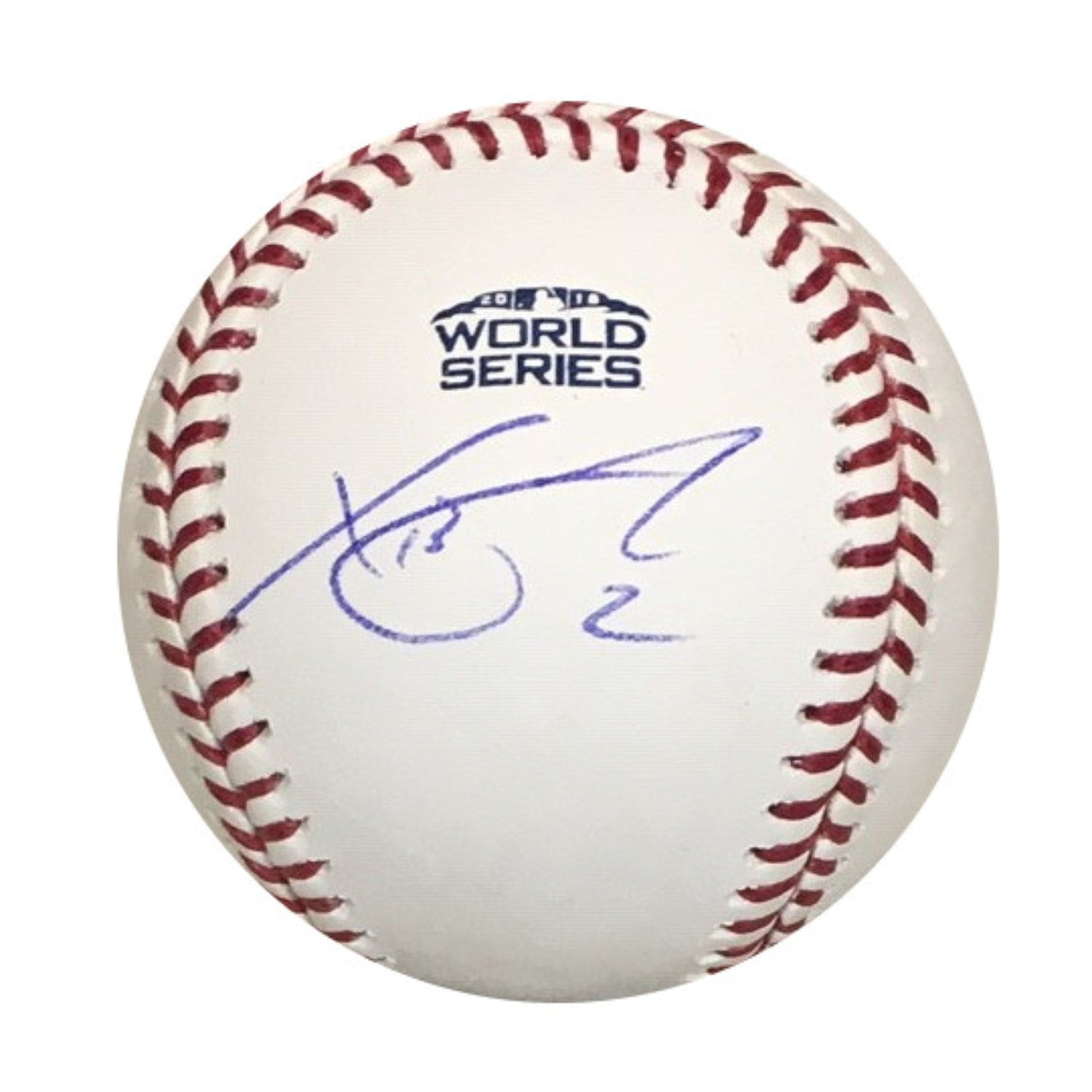 1bb055bbdfee1 Xander Bogaerts Boston Red Sox Autographed 2018 World Series Signed  Baseball PSA DNA COA With UV