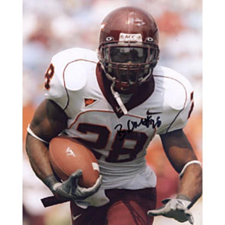 Branden Ore #28 Autographed / Signed Virginia Tech Hokies College Football 8x10 Photo PSM