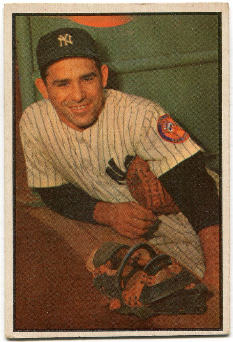 Yogi Berra 1954 Bowman Card #121 PSM-Powers Sports Memorabilia
