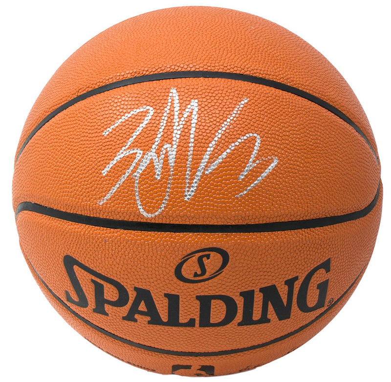 Zach LaVine Chicago Bulls Signed Indoor/Outdoor Spalding Basketball Fanatics PSM-Powers Sports Memorabilia