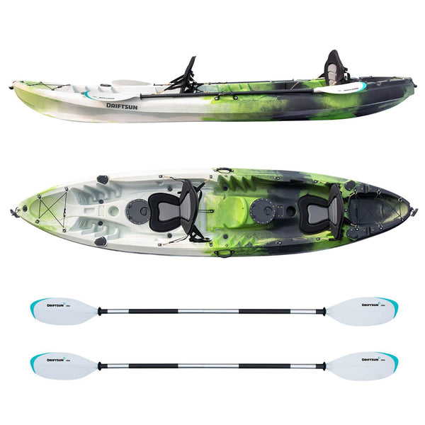 Driftsun Teton 120 Recreational Tandem Hard Shell Kayak