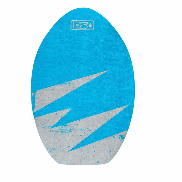 Front view of 30 inch Driftsun Wood Skim Board with XPE Traction Pad
