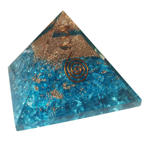 Image of Atlantis Orgone Crystal Pyramid