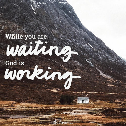 Being Still Doesn't mean doing nothing. 9 Principles for waiting on God