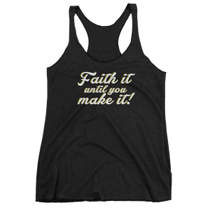 Faith It Fitness Top (Women)