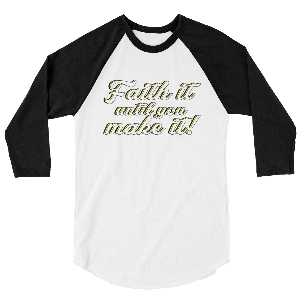 Faith It Raglan