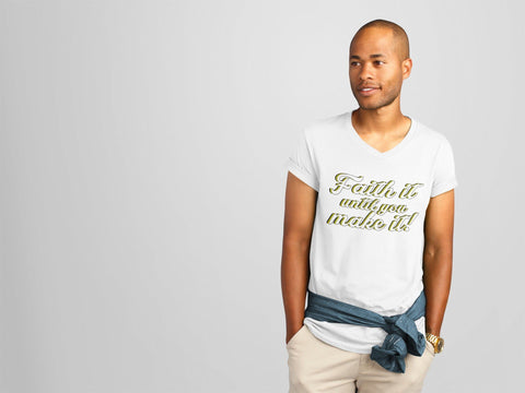 Faith It V-Neck