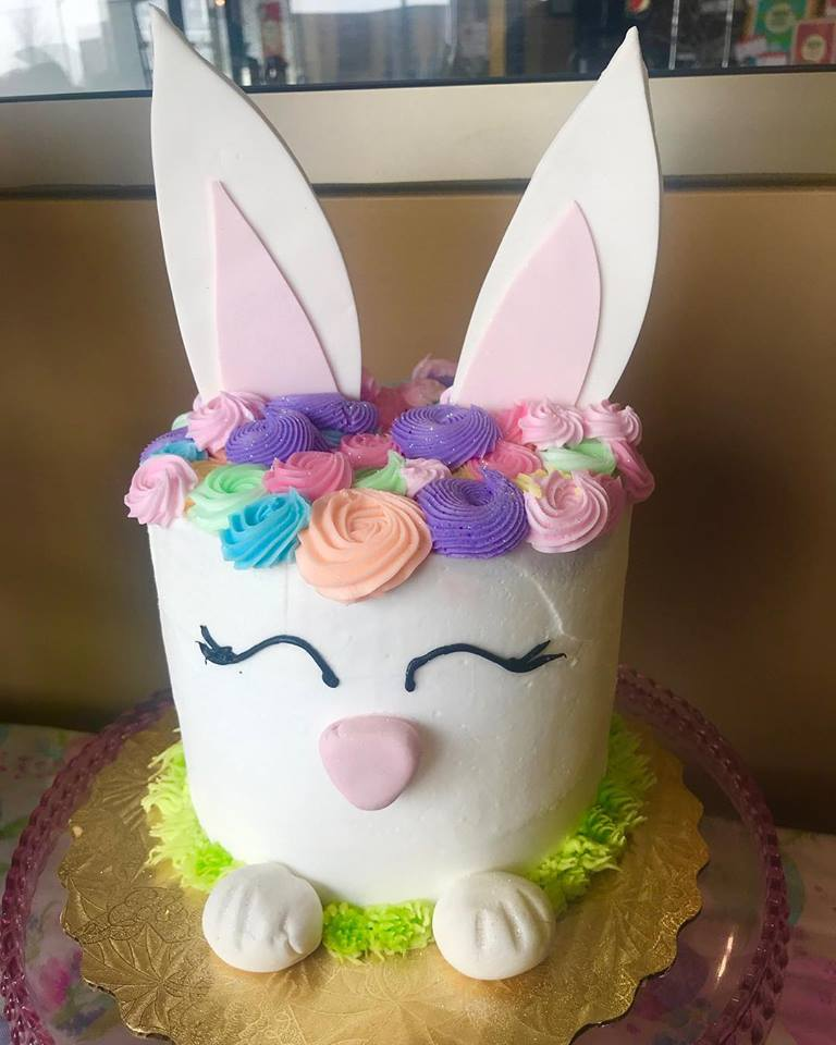 Ms. Bunny Decorated Cake