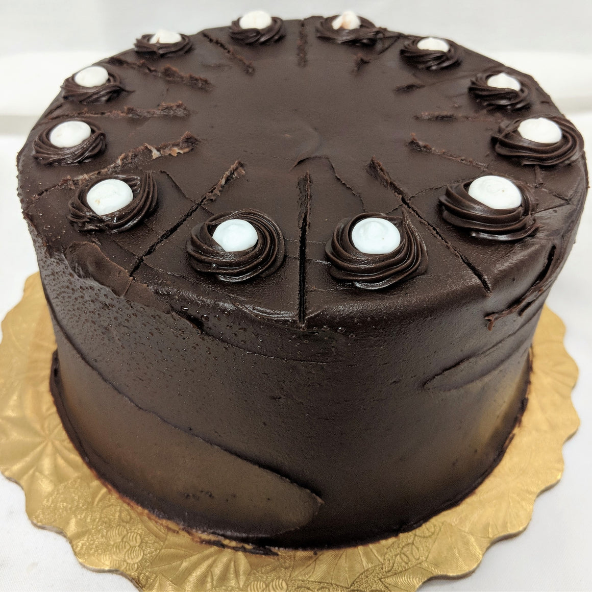 "7"" Chocolate Cream Filled Torte"