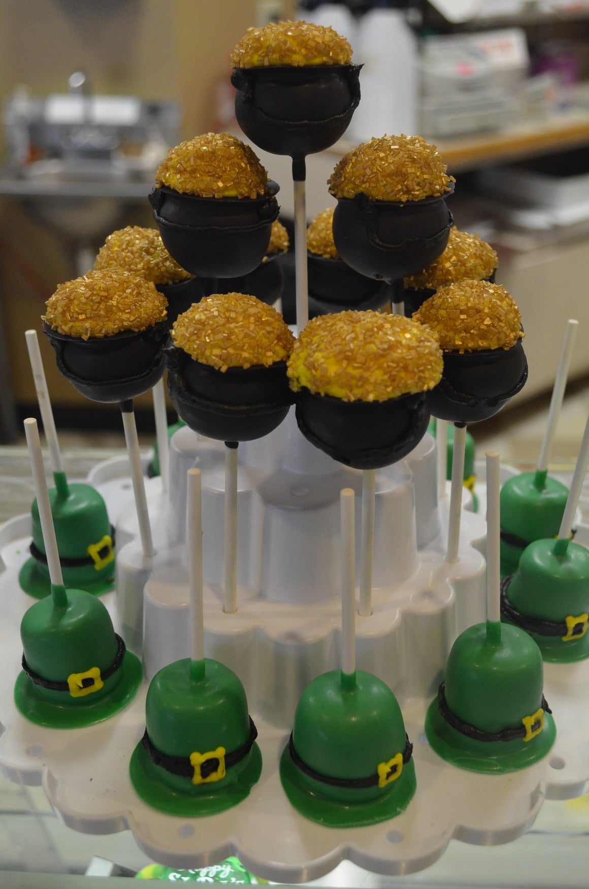 St. Patrick's Day Featured Truffle Pops