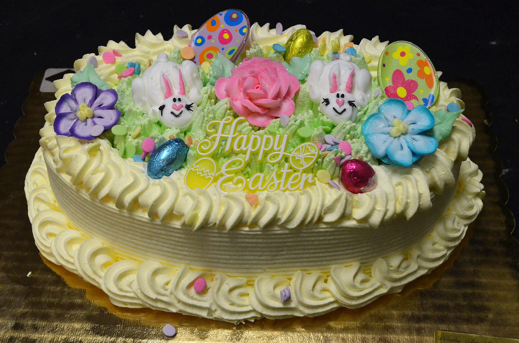 Chantilly Basket cake