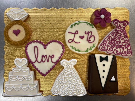 Decorated Cookies Wedding Theme