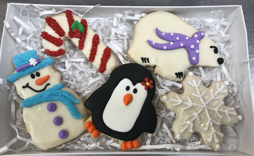 Snowfall Gift Cookie Box