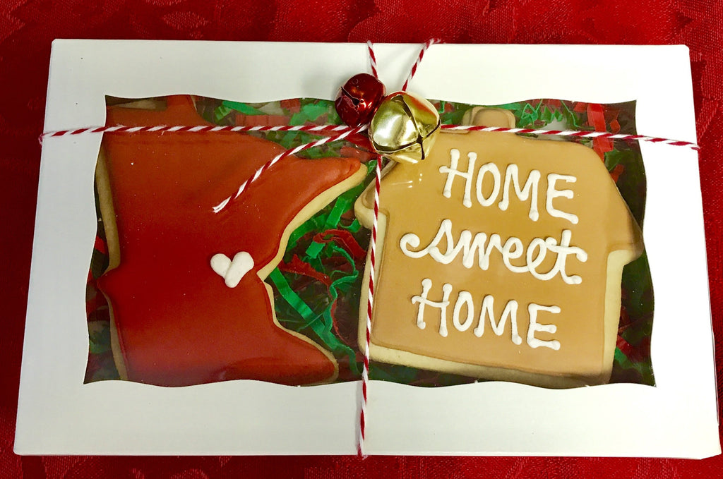 Home Sweet Home Gift Cookie Box