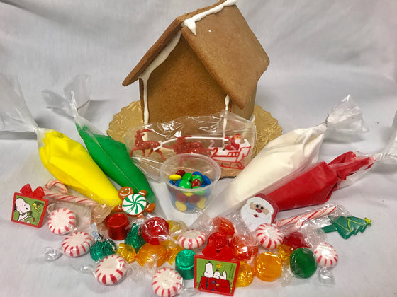 "Gingerbread House ""Decorate at Home Kit"""