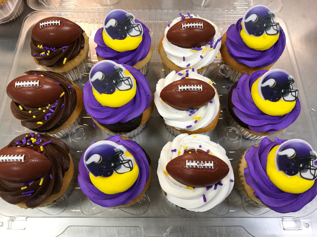 Football Home Team cupcakes