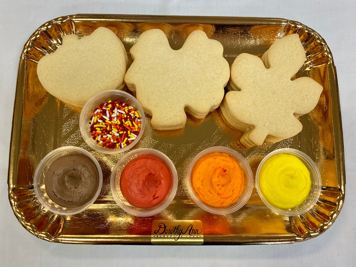 Decorate Your Own Thanksgiving Cookies