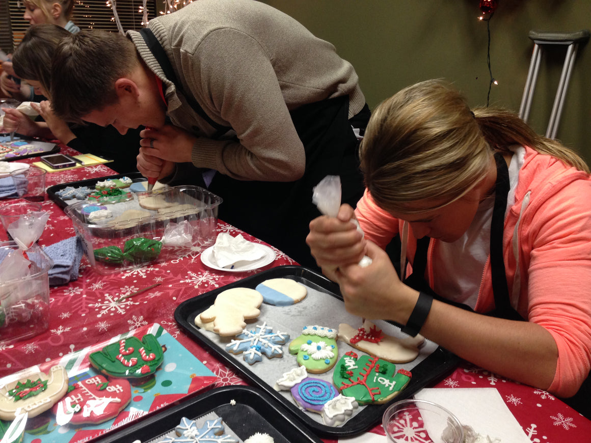 """Christmas Theme"" Cookie Decorating (all ages) Tuesday, Dec 10. 6:00-7:30pm"