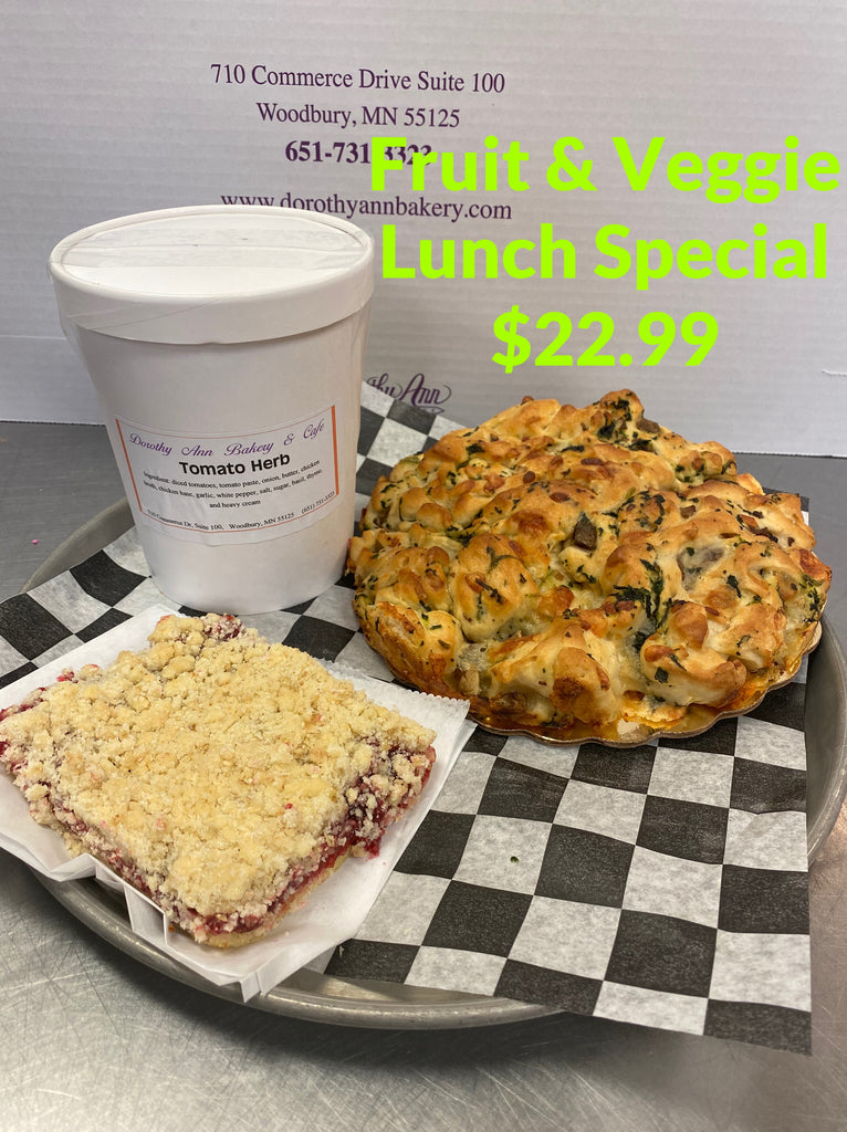 Fruit & Veggie Lunch Special $22.99
